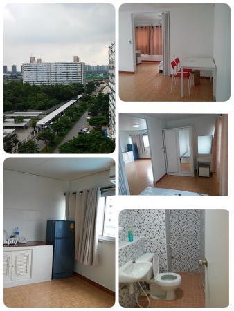 ที่พักเมืองทอง อาคาร T11 ห้องมุม โทร 0859716275