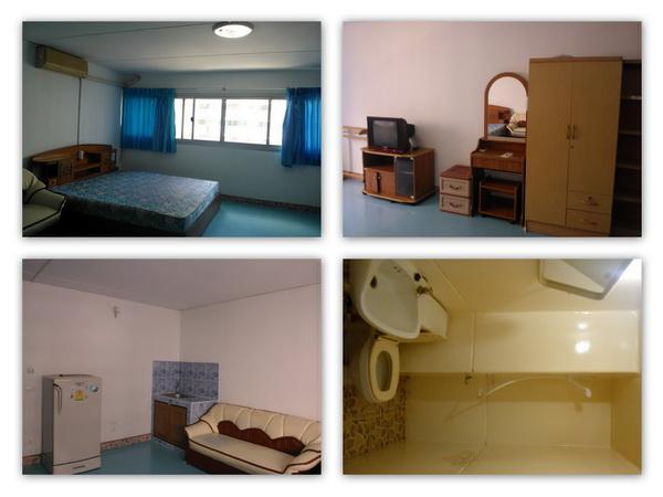 ให้เช่าห้อง   ห้องเล็กด้านนอก อาคาร C8 ชั้น 12