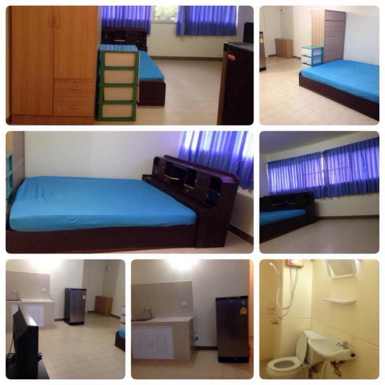ให้เช่าห้อง   ห้องเล็กด้านนอก อาคาร C7 ชั้น 3