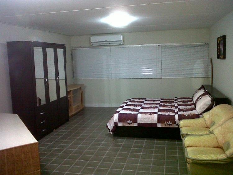 ให้เช่าห้อง   ห้องขนาดกลางด้านนอก อาคาร P2 ชั้น 2