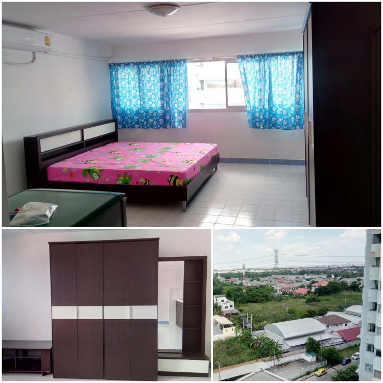 ให้เช่าห้อง   ห้องเล็กด้านนอก อาคาร T12 ชั้น 12