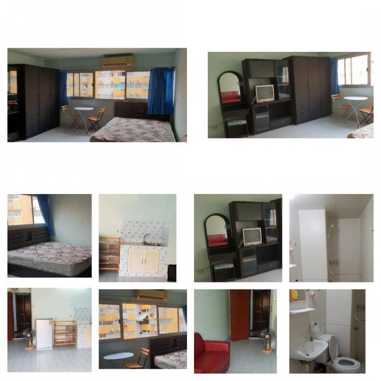 ให้เช่าห้อง   ห้องเล็กด้านใน อาคาร T3 ชั้น 12
