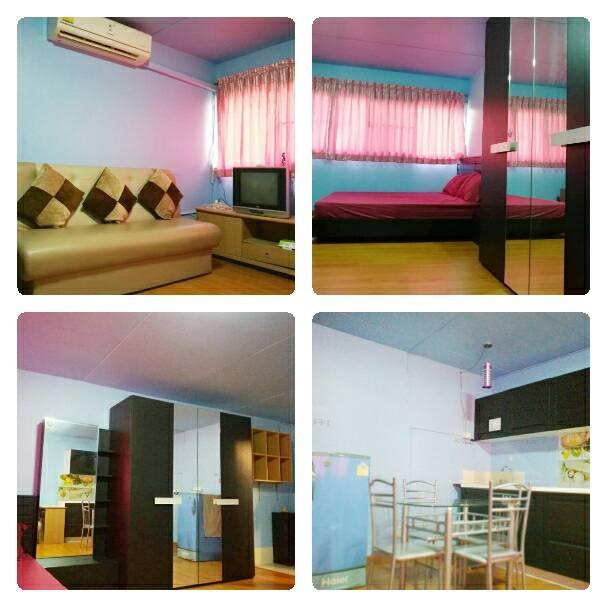ที่พักเมืองทอง อาคาร T4 ห้องเล็กด้านใน โทร 0848746188