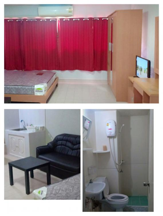 ที่พักเมืองทอง อาคาร T6 ห้องเล็กด้านใน โทร 0988326636