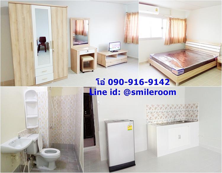 ให้เช่าห้อง   ห้องเล็กด้านนอก อาคาร T2 ชั้น 8